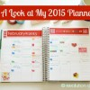 A Look at My 2015 (Erin Condren) Planner