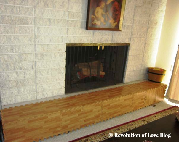 Babyproofing the Fireplace Area | Revolution of Love