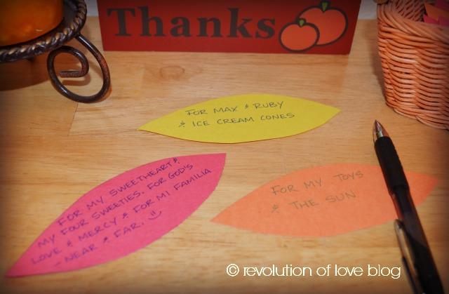 Revolution of Love Blog - The Thanksgiving Tree - pp_thanks_2
