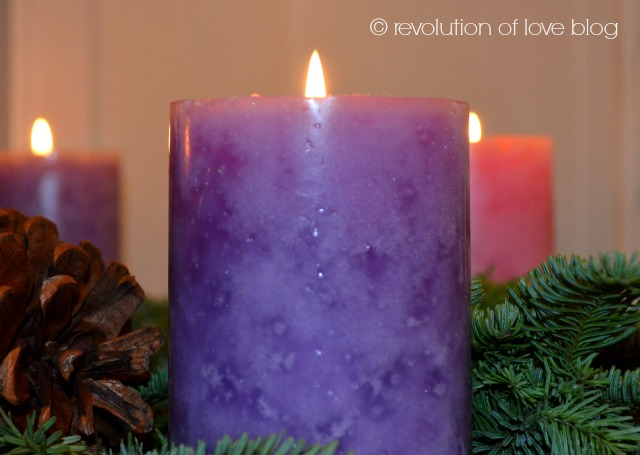 revolution of love blog - advent_candle
