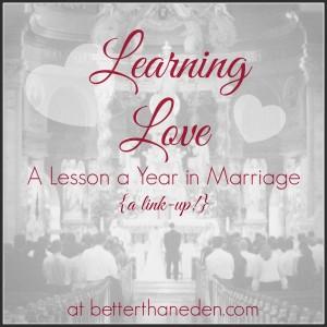 Learning Love Link-Up Framed
