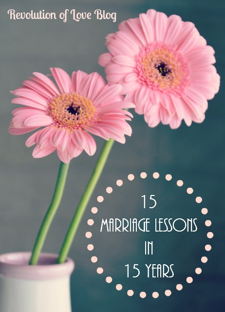 Revolution of Love Blog - 15 Marriage Lessons in 15 Years (logo_marriage)